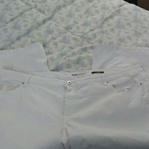 White Style & Co. Denim capris